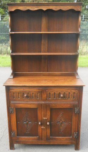 Quality Small Oak Welsh Dresser
